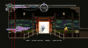 Touhou Luna Nights_ワープ